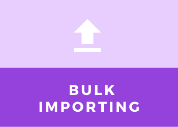 Bulk Importing