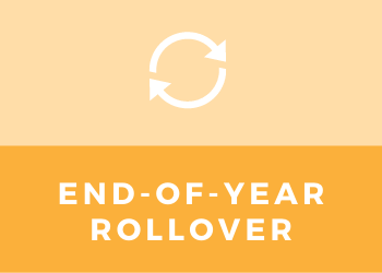 end of year rollover