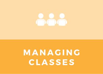 Schools - Managing Classes