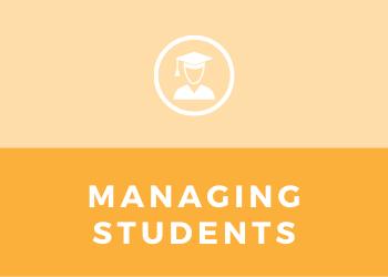 Schools - Managing Students
