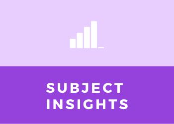 Subject Insights - Teacher